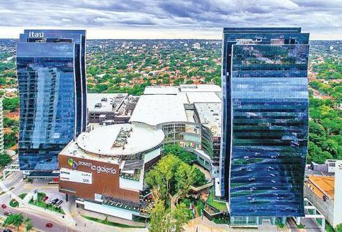 Paseo del Torres - neue Hochhäuser in Asuncion