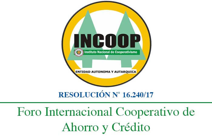 INCOOP Paraguay - Instituto Nacional de Cooperativismo