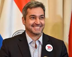 Präsident von Paraguay Mario Abdo Benitez