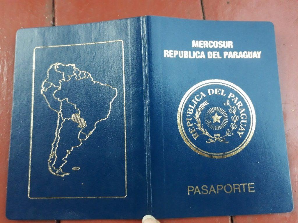 Reisepaß Paraguay